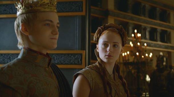 Sansa y Joffrey se reencuentran y la reacción de Joe Jonas es