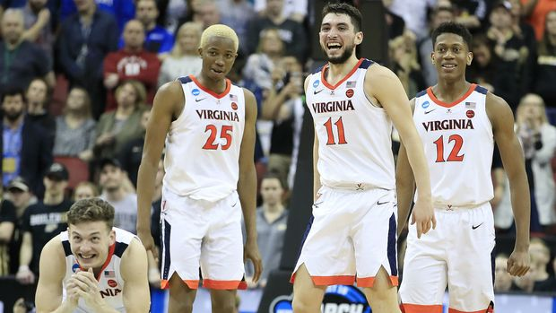 Virginia is the new favorite to win the 2019 NCAA Tournament.
