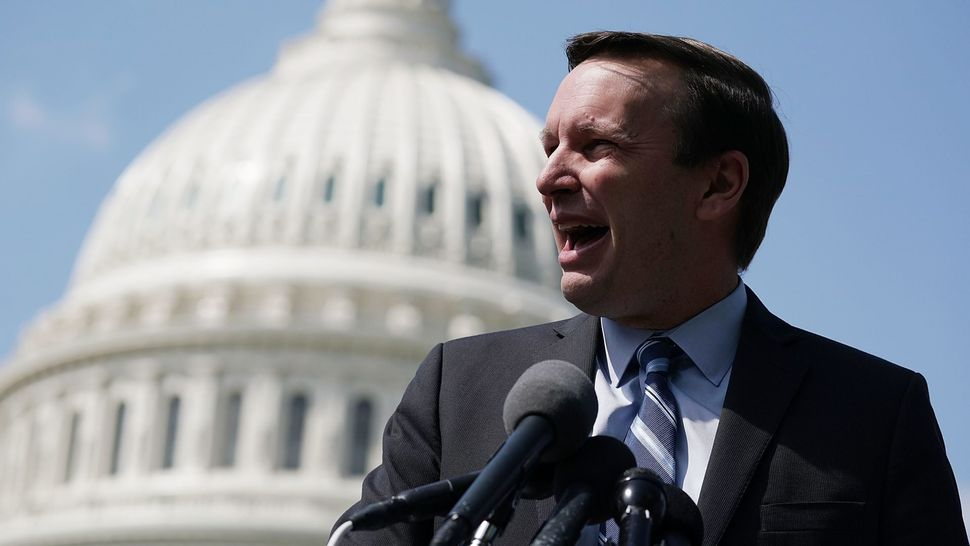 "Sen. Chris Murphy (D-Conn.) released a report in April that calls on the NCAA to fairly compensate major college athletes. ""I"