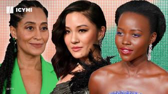 Tracy Ellis-Ross, Constance Wu and Lupita Nyong'o