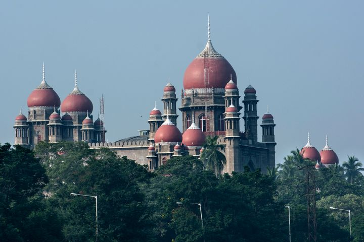 The High Court of Judicature in Hyderabad.