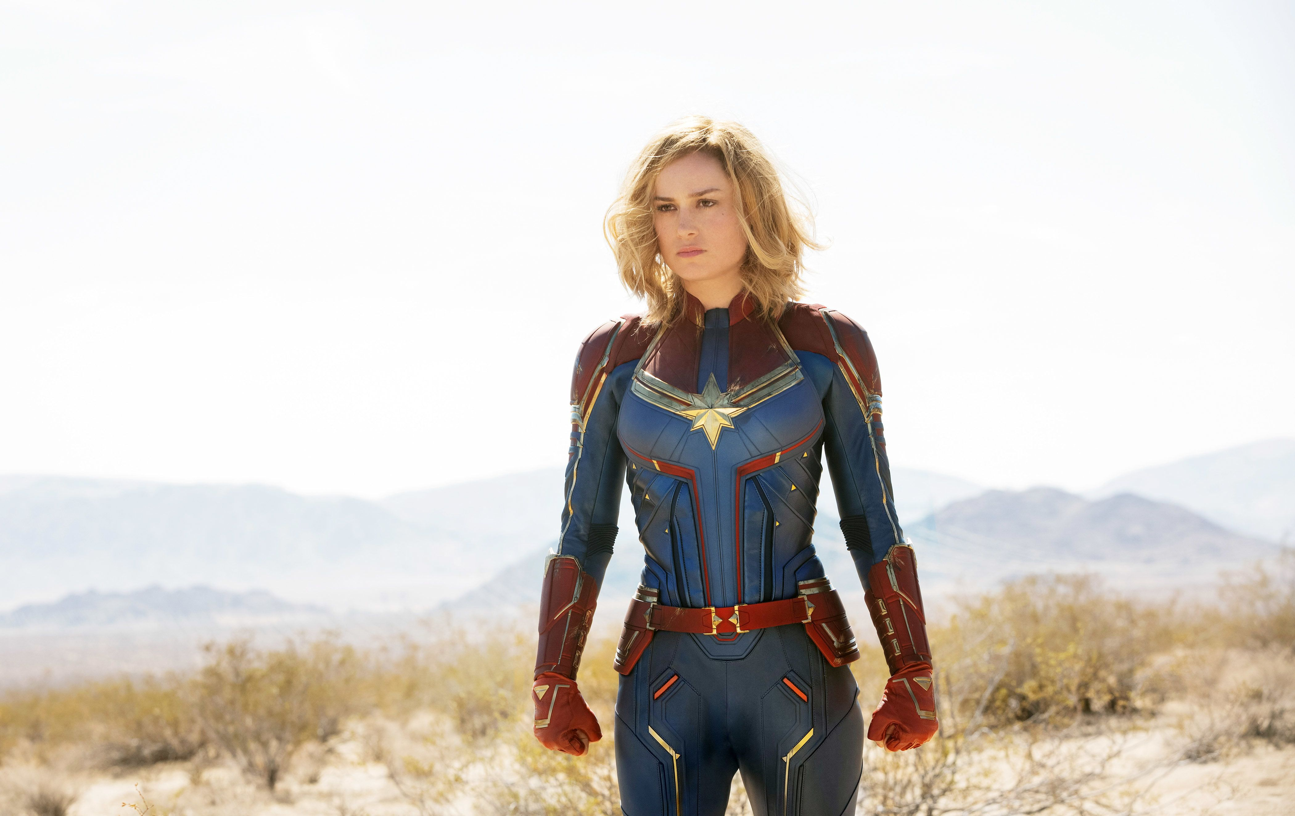 "Marvel's ""Captain Marvel,"" starring Brie Larson, officially surpassed $1 billion in ticket sales worldwide, reaffirming the notion that female superheroes can hold their own at the box office."
