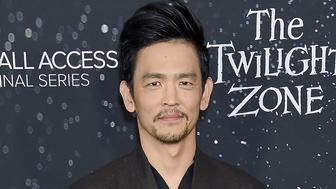 HOLLYWOOD, CA - MARCH 26:  John Cho arrives at the CBS All Access New Series 'The Twilight Zone' Premiere at the Harmony Gold Preview House and Theater on March 26, 2019 in Hollywood, California.  (Photo by Gregg DeGuire/WireImage)