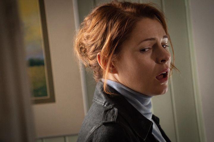 "Amy Seimetz as Rachel Creed in ""Pet Sematary."""