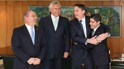 Abraços e desculpas por 'caneladas': Bolsonaro recebe líderes, mas partidos querem