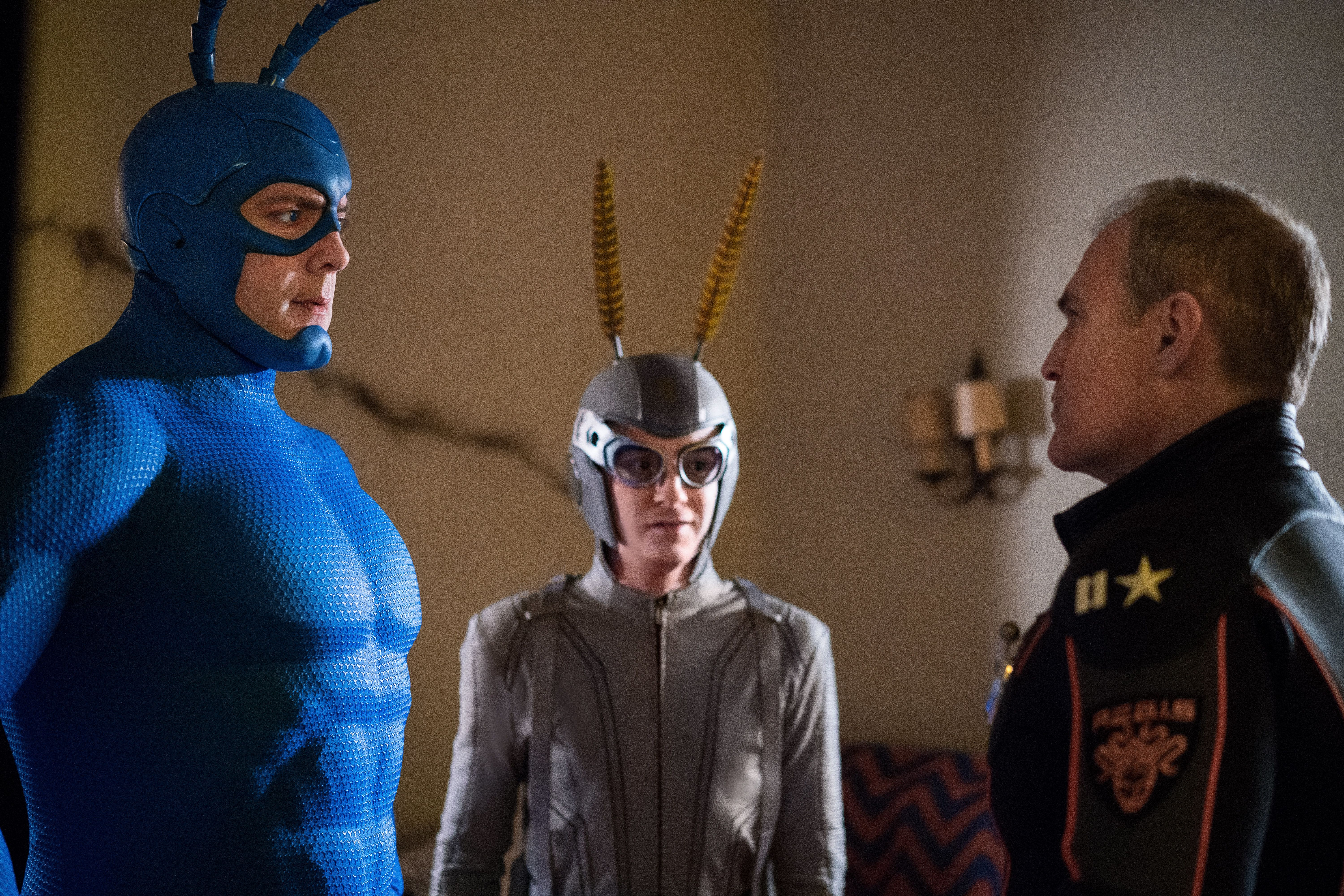 """The Tick"" on Amazon Prime."