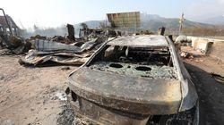 강원 고성, 속초 산불로 약 4,230여명의 이재민이