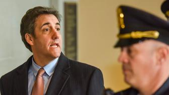 WASHINGTON, DC - MARCH 6: Michael Cohen, longtime lawyer for Donald Trump, arrives at the U.S. Capitol to testify before the House Intelligence Committee in a closed session on Wednesday, March 6, 2019, in Washington, DC.  Cohen has cast the president as a mendacious and petty racist who enlisted those around him to propagate a culture of deceit during his campaign and after winning the presidency. (Photo by Jahi Chikwendiu/The Washington Post via Getty Images)