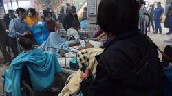 불길 피해 긴박하게 환자 이송한 속초 의료원의 새벽