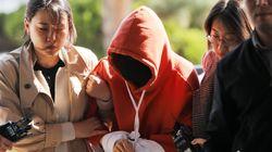 황하나가 '마약 혐의'를 일부