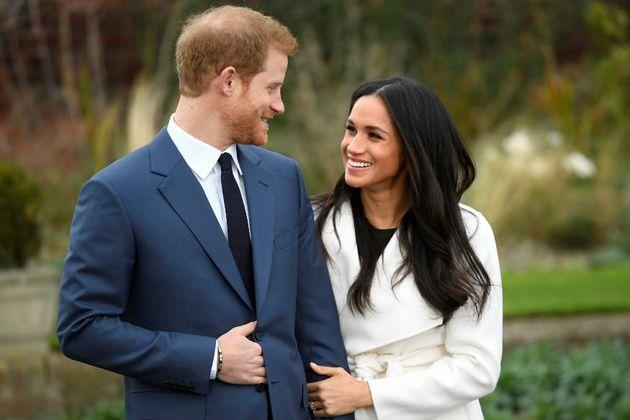 英国のヘンリー王子とメーガン妃