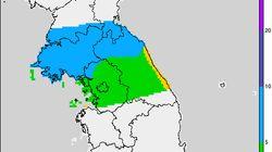 내일(6일) 강원 지역에 비 예보가
