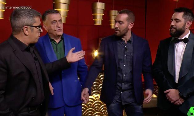 El controvertido comentario de Andreu Buenafuente a Dani Mateo en el programa 2.000 de 'El Intermedio'