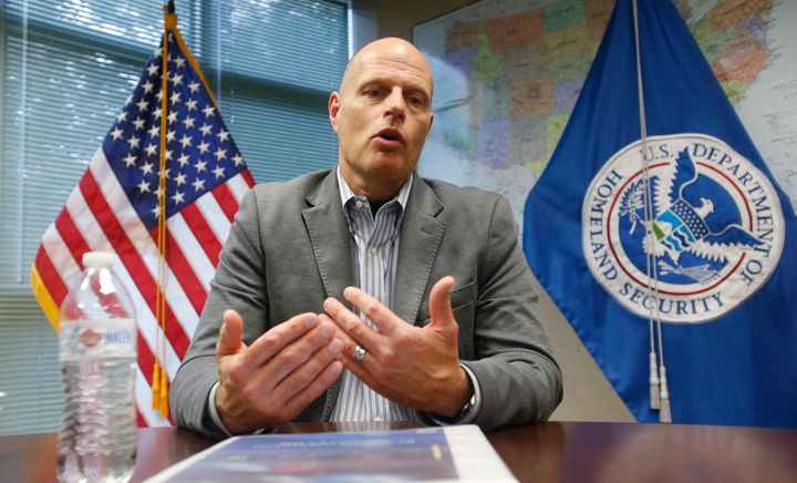 Ron Vitiello, who has been acting director of U.S. Immigration and Customs Enforcement, was withdrawn on Thursday. The d