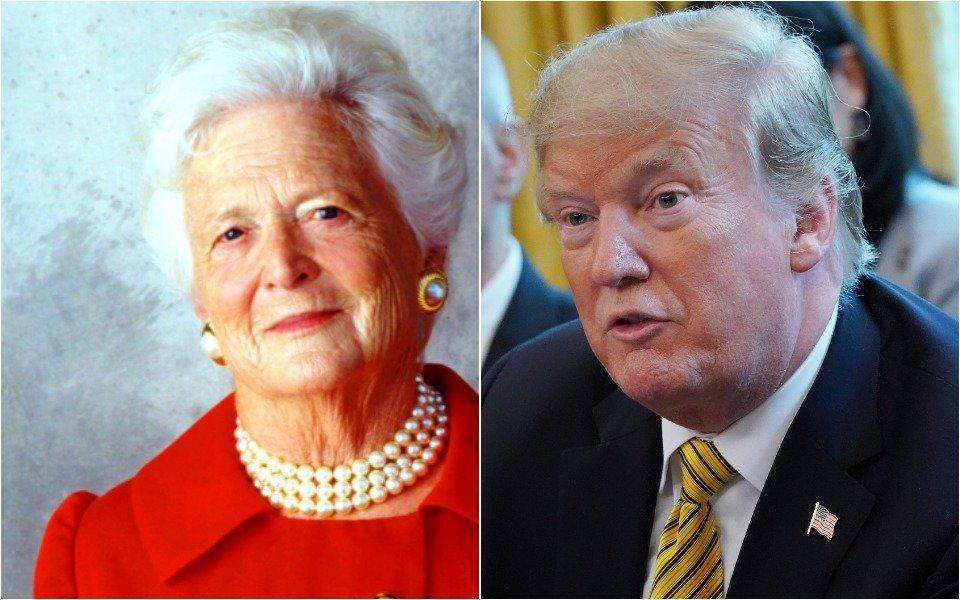 Trump and Bush
