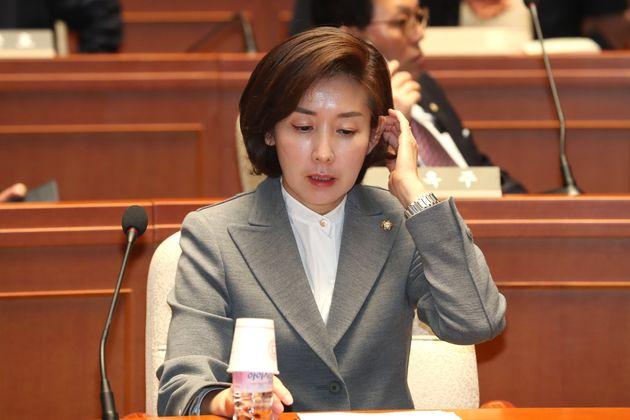 나경원의 '억울함'이 거꾸로 말해주는 자유한국당의 안보