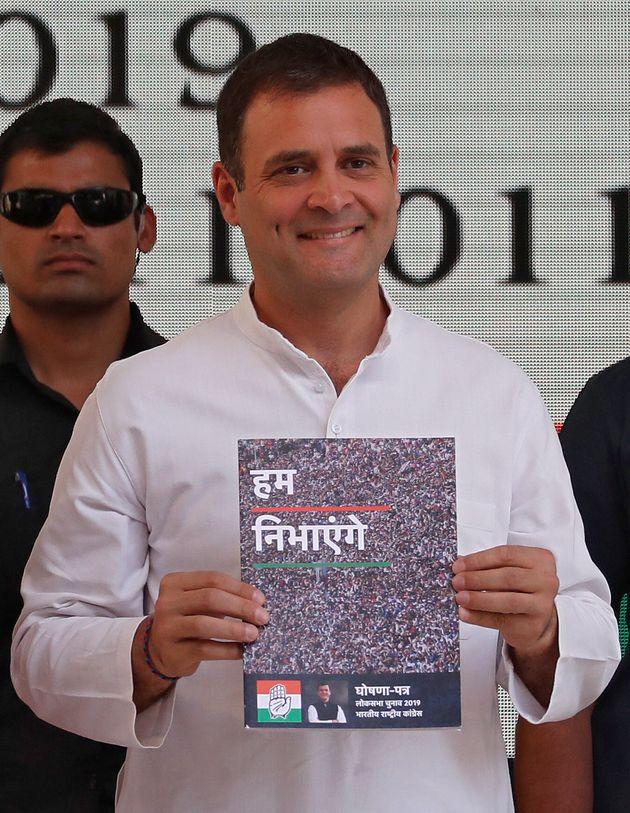 Congress' Minimum Income Scheme Will Not Be A Burden On Middle Class: Rahul
