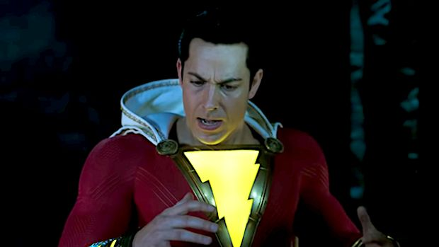 "Zachary Levi stars in the new superhero film, ""Shazam!"""