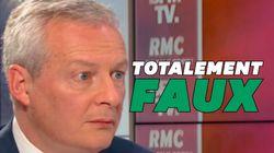 Retraites : Bruno Le Maire n'a rien compris aux pensions de