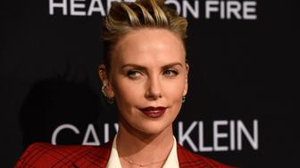 Honoree Charlize Theron poses at the 25th Annual ELLE Women in Hollywood Celebration, Monday, Oct. 15, 2018, in Los Angeles. (Photo by Chris Pizzello/Invision/AP)