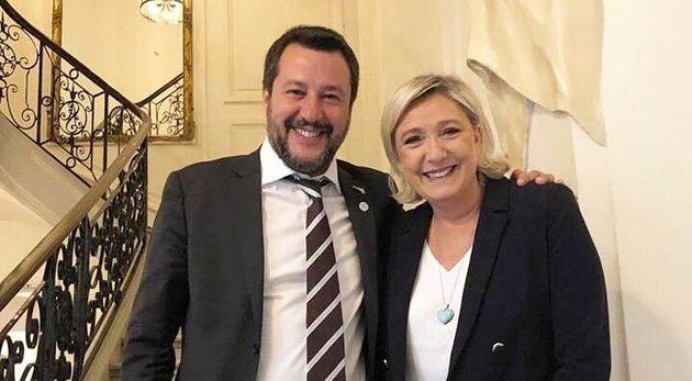 Ce vendredi 5 avril, les deux leaders populistes européens que sont Marine Le Pen et Matteo Salvini...