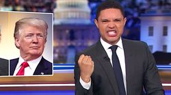 Trevor Noah Imagines Trump's Impeachment And Deliriously