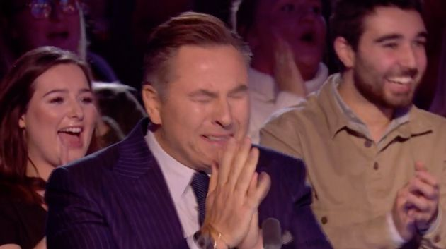 David Walliams was left in tears at their