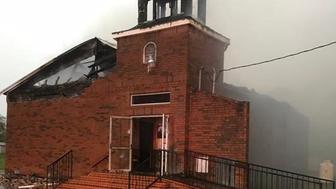 Louisiana Black Church Fire