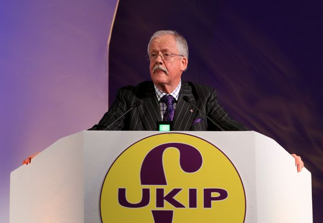 Ex-Ukip MEP Roger Helmer Is Staging A Bizarre 'BREXIT' Protest And Everyone Is Pointing Out The Same