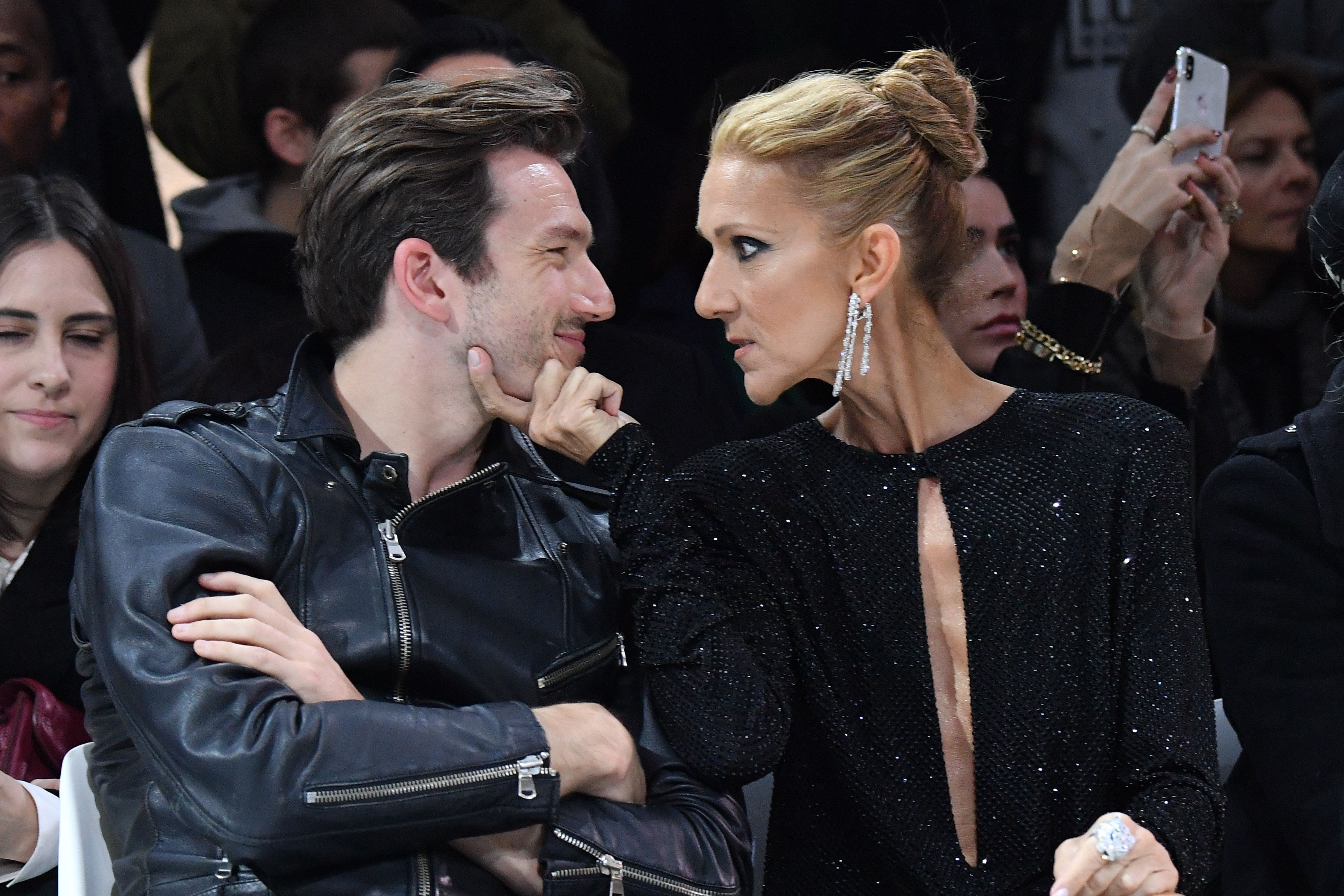 """""""He's my best friend and we dance together and he did so much for me,"""" Céline Dion (right) said ofPepe Mu&"""