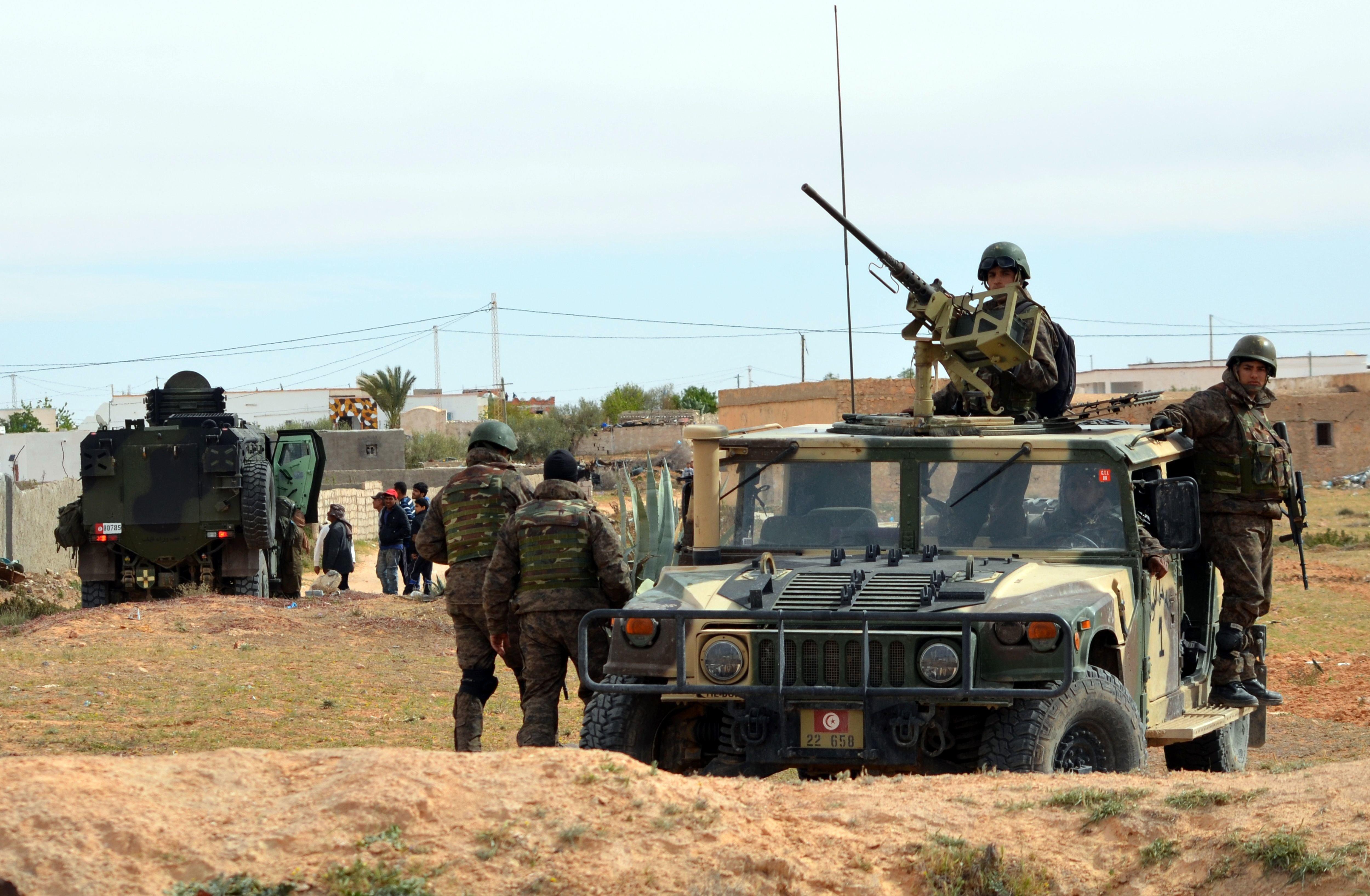 Mobilisation militaire préventive aux frontières