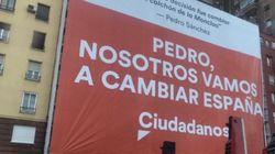 El cartel de campaña de Ciudadanos se le vuelve en contra en Twitter por lo que Albert Rivera dijo en 'El
