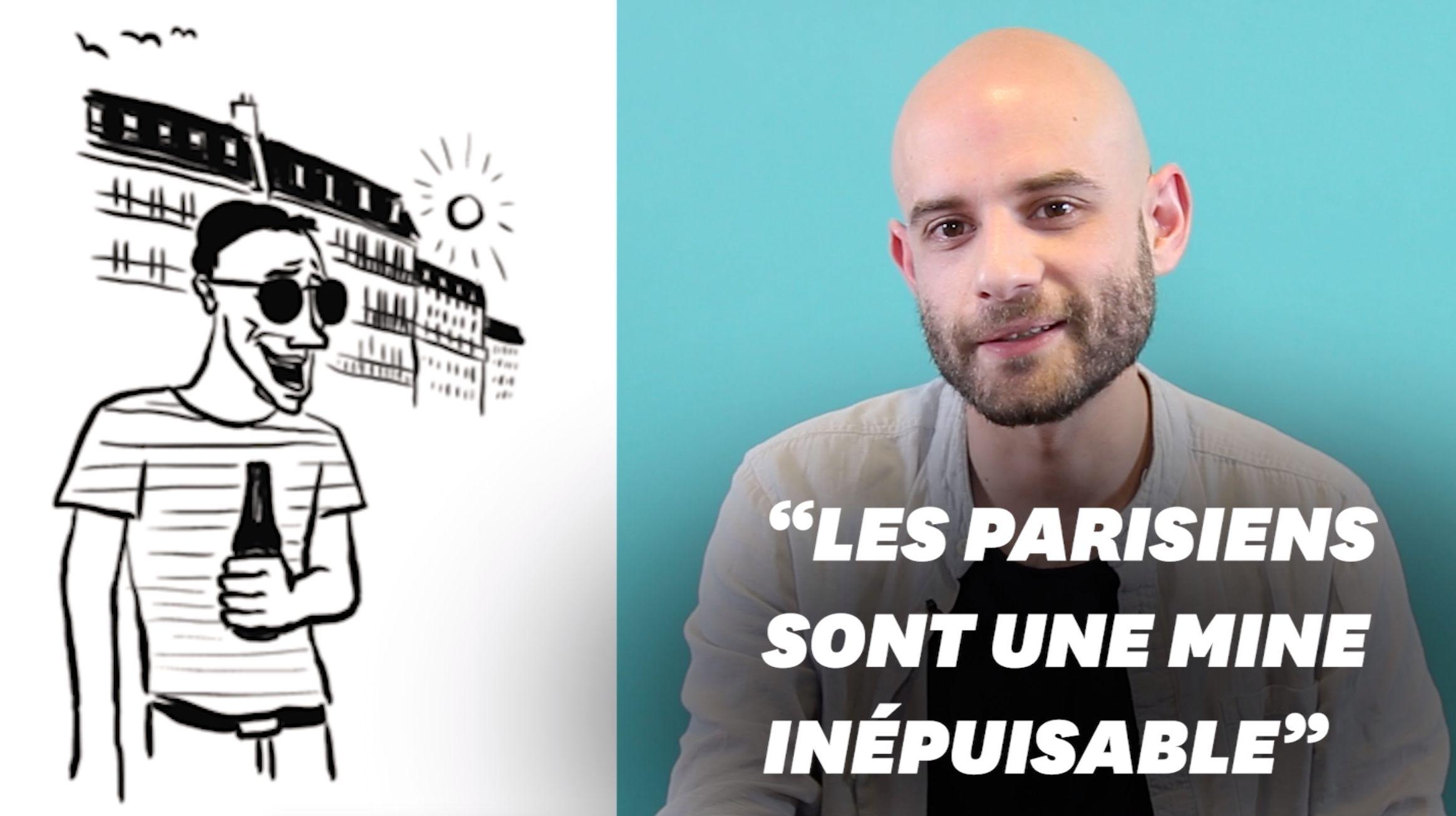 Ce dessinateur a passé les Parisiens à la