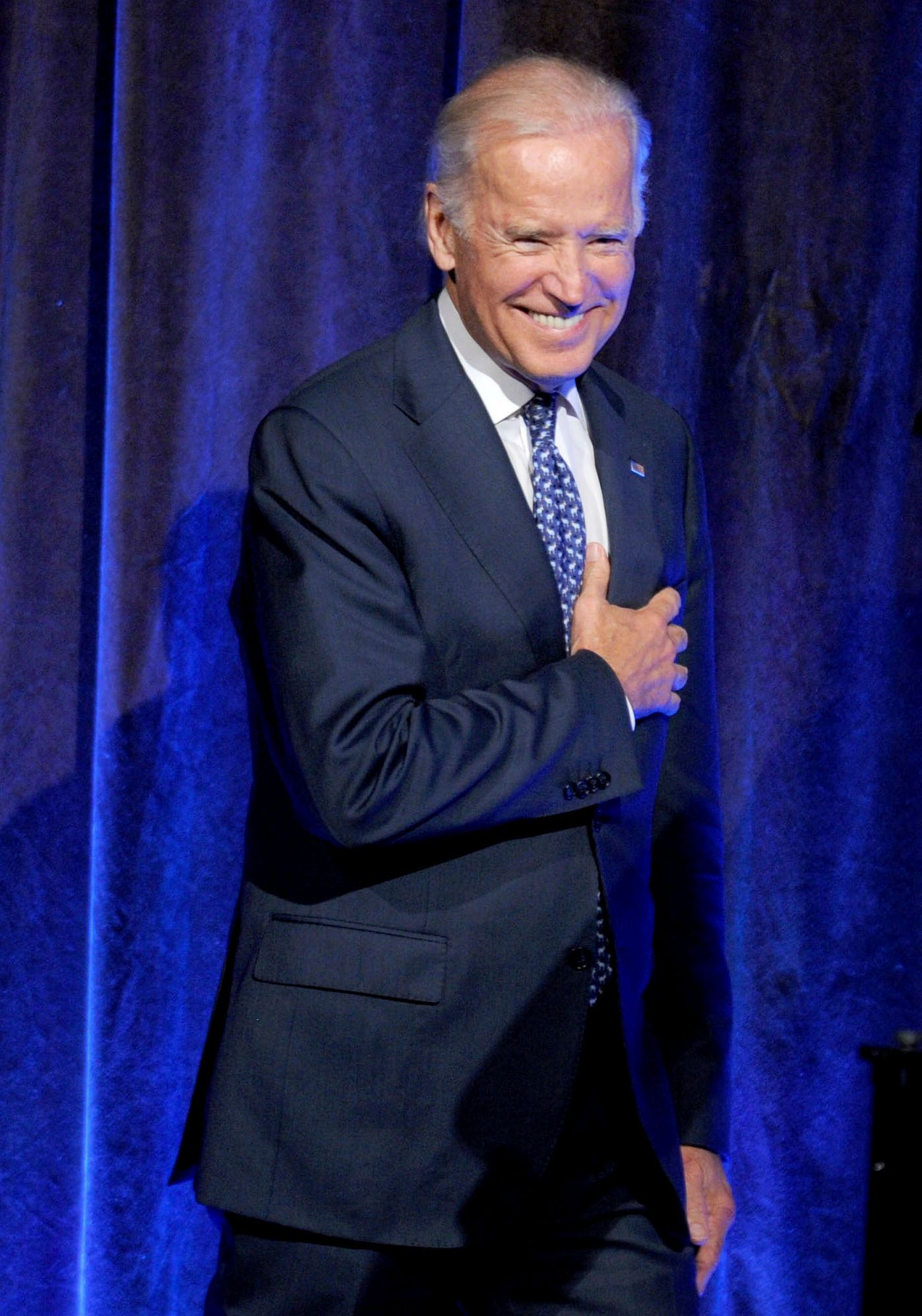 APRIL 1, 2019: Joe Biden accused of sexual misconduct by former Nevada state assemblywoman Lucy Flores. - File Photo by: zz/Dennis Van Tine/STAR MAX/IPx 2015 7/9/15 Vice President Joe Biden at The Freedom to Marry Celebration. (NYC)
