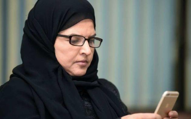 Salah al-Haidar, fils de Aziza al-Youssef, militante arrêtée au printemps dernier (ici en...