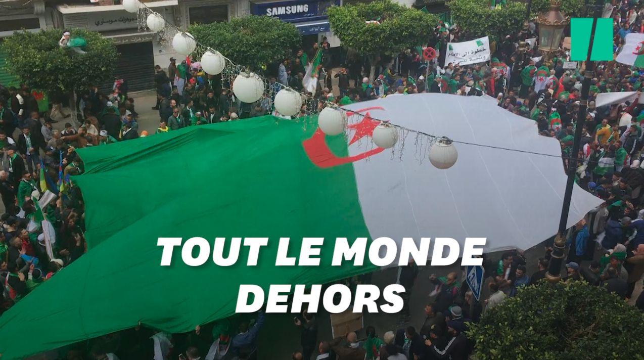 Bouteflika parti, les Algériens maintiennent leur