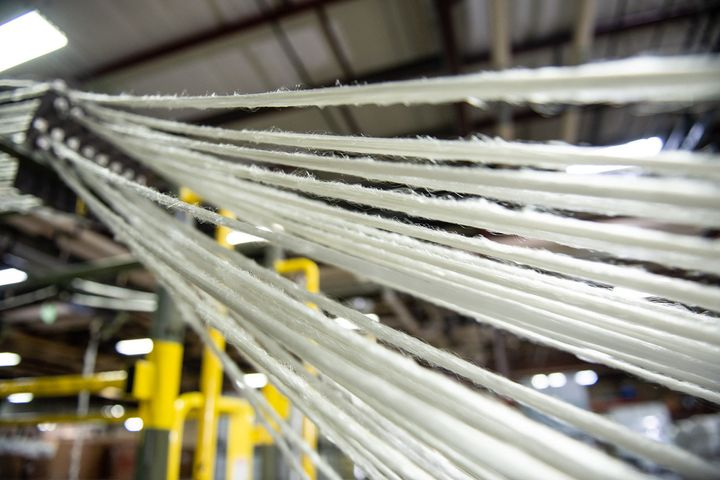 Textile company PrimaLoft has created a biodegradable synthetic material that can be woven into textiles.