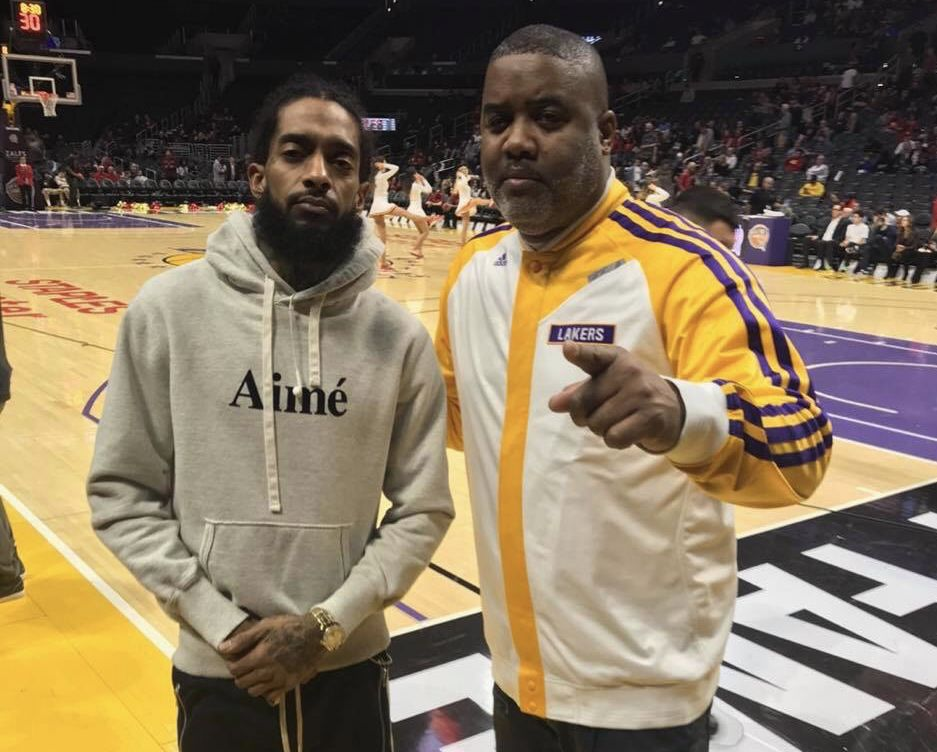 Nipsey Hussle and Bobby Francis have been friends for more than a decade. (photo via Bobby Francis)