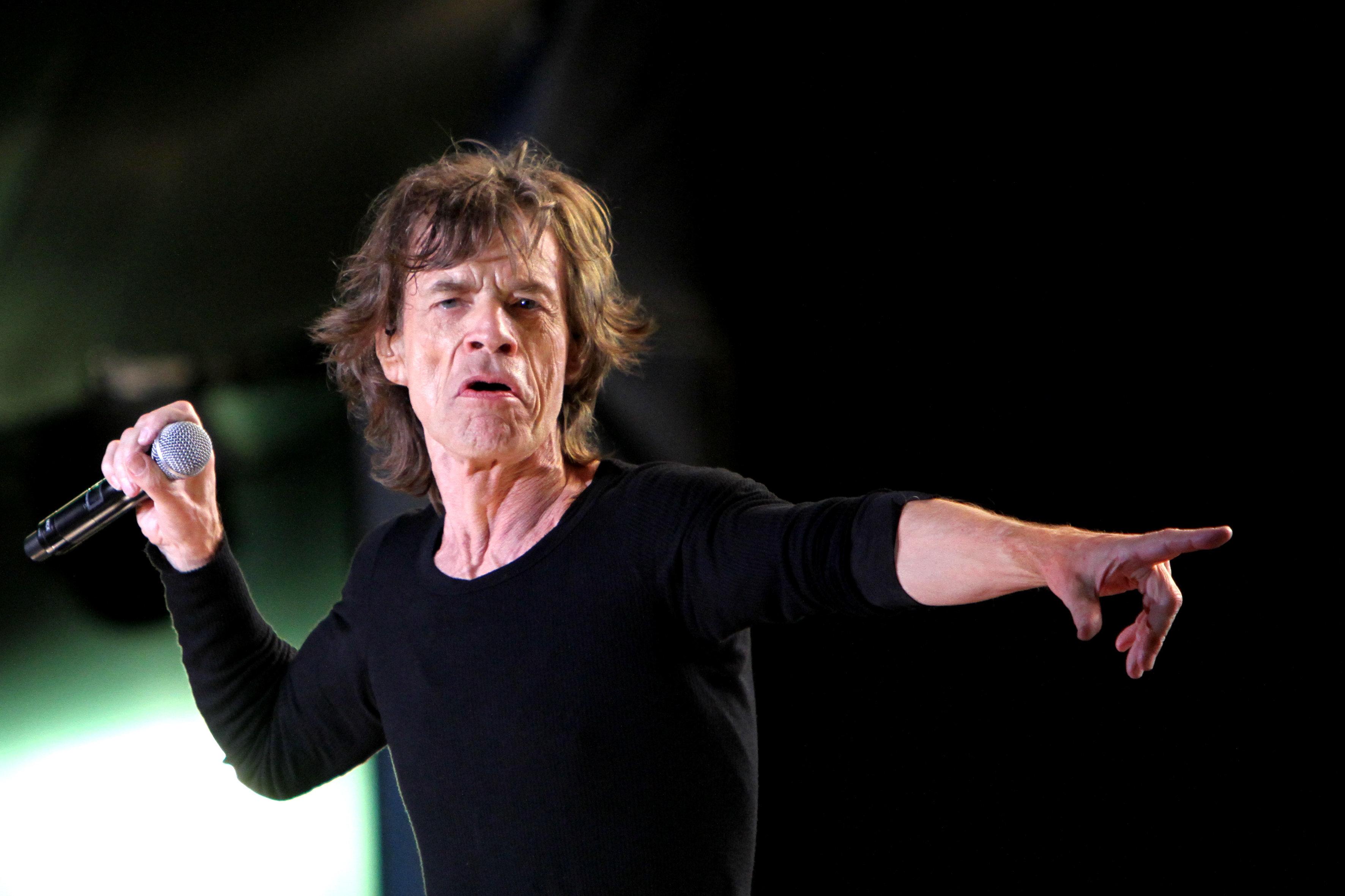 Mick Jagger se sent