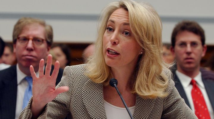 Valerie Plame became a national figure after her identity as a CIA operative was leaked by an official in President Geor