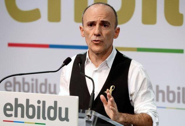 Josu Juaristi, el ya excandidato de Bildu, en una imagen de