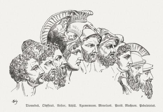 Héroes griegos de la 'Odisea' de