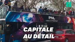 Un bus PNL en direction des Champs-Élysées