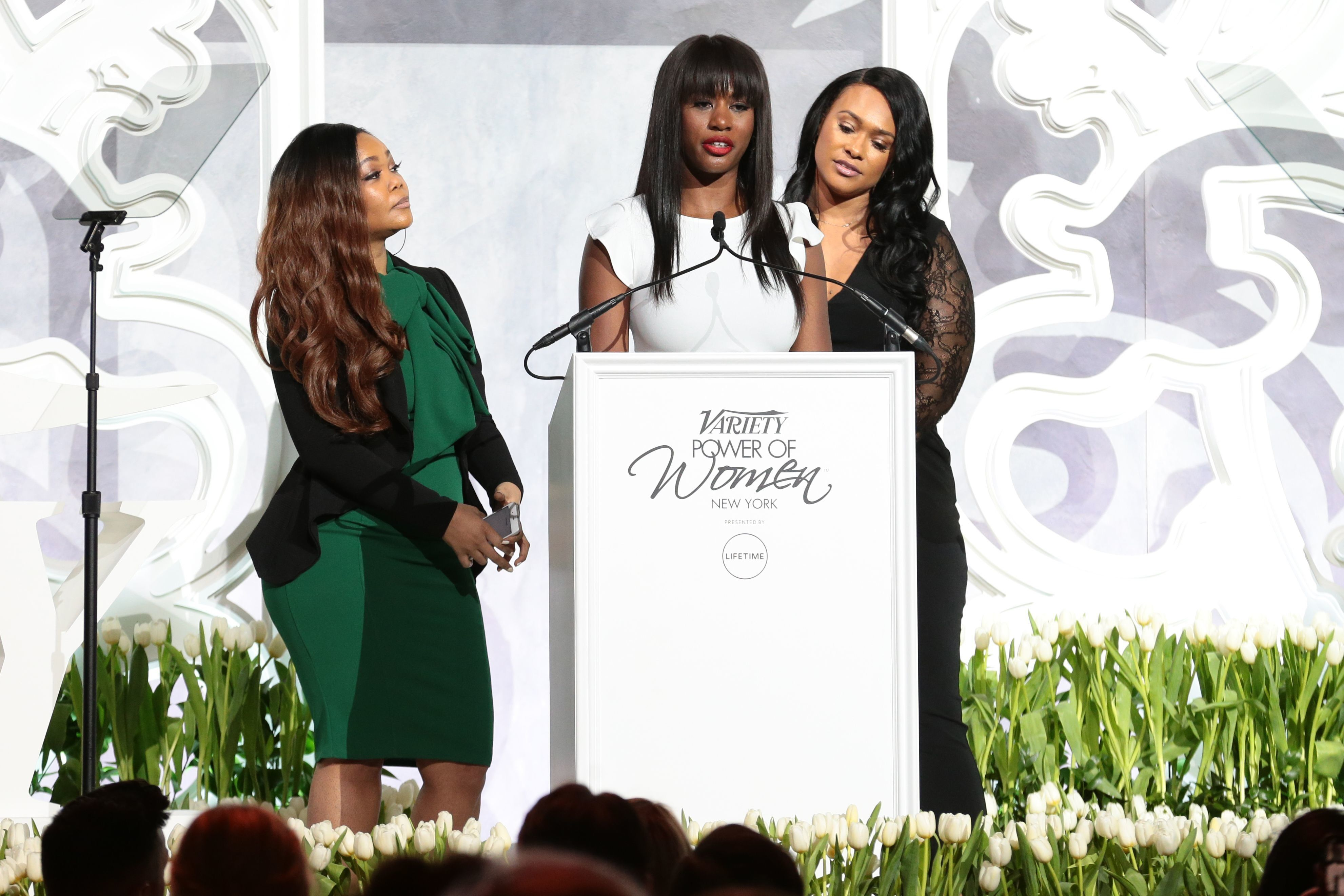 "Variety's Power of Women celebration featured three women who told their stories in ""Surviving R. Kelly,"" Lisa Van Allen, Asante McGee and Kitty Jones, all of whom have leveled serious charges of sexual misconduct against R. Kelly. In introducing the survivors, Lifetime's Brie Bryant noted that the show started with two survivors and ended up […]"