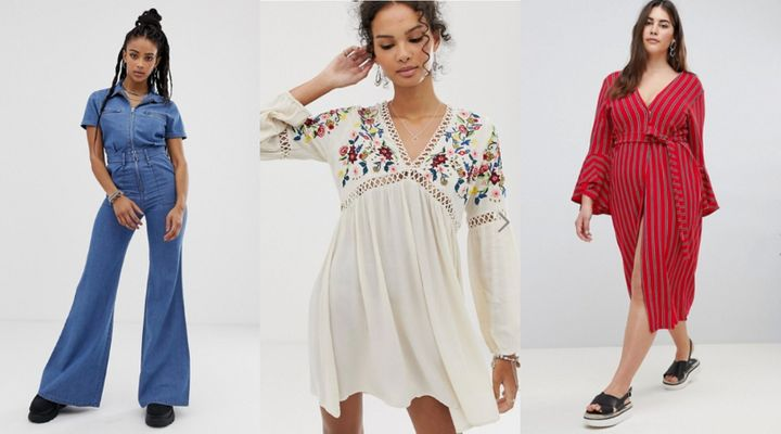 c67ab3fb92d Asos Has A Lot Of Dresses And Jumpsuits Half Price Right Now ...