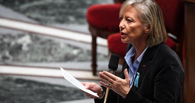 Sophie Cluzel, ici le 2 avril à l'Assemblée nationale, est critiquée par les psychiatres...