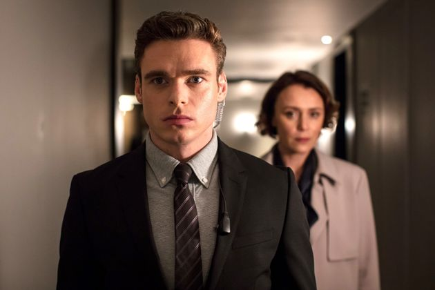 Richard Madden and Keeley in