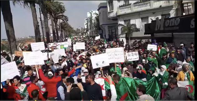 La manif à Oran : un torrent de femmes, zéro policiers ( J'y retourne