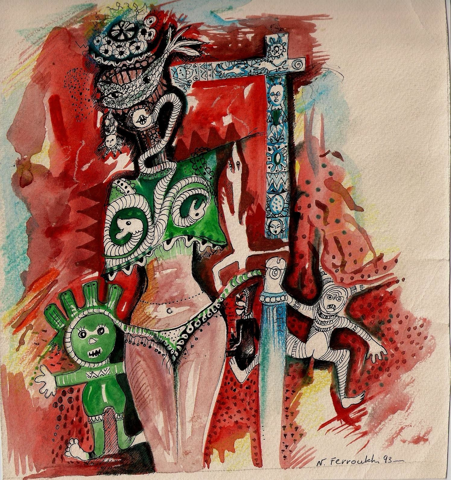 Le peintre Noureddine Ferroukhi lègue à l'Algérie ses caresses du