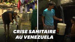 Au Venezuela, un parc national se transforme en bains
